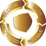 Oro sicuro Fotografie Stock