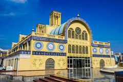 Oro Souk di Sharjah fotografia stock