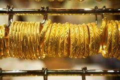 Oro Souk en Dubai imagen de archivo libre de regalías