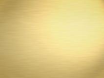 Oro spazzolato Immagine Stock Libera da Diritti