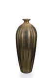 Oro vuoto Mercury Glass Vase immagini stock libere da diritti