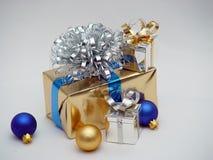 Oro y plata Fotografía de archivo libre de regalías