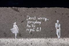 Oroa inte Arkivfoton