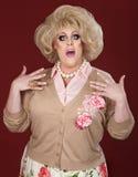 oroad transvestit Arkivfoto