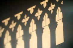 oroen för ca D shadows väggen Royaltyfria Bilder