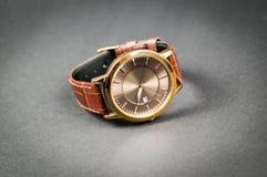 Orologi alla moda del ` s degli uomini Fotografia Stock