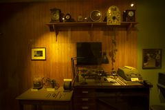 Orologi antichi immagini stock