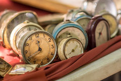 Orologi antichi Immagine Stock