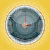 Orologi con il reticolo. Fotografia Stock Libera da Diritti