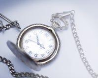 Orologi da tasca antichi Fotografie Stock