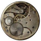Orologi da tasca meccanici d'annata del movimento a orologeria Immagine Stock Libera da Diritti