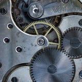 Orologi da tasca meccanici d'annata del movimento a orologeria Immagine Stock