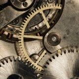 Orologi da tasca meccanici d'annata del movimento a orologeria Fotografia Stock Libera da Diritti