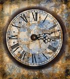 Orologi dell'annata Fotografia Stock