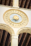 Orologi dell'ufficio postale di Venezia fotografie stock