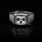 Orologi dello svizzero su fondo nero prodotto Fotografia Stock Libera da Diritti