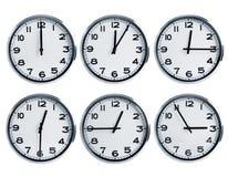 Orologi di parete fotografie stock libere da diritti