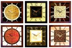 Orologi di parete 4 fotografia stock