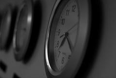 Orologi di parete Fotografia Stock Libera da Diritti