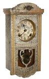 orologi di parete dorati antichi Immagine Stock Libera da Diritti