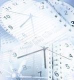 Orologi e calendari fotografie stock