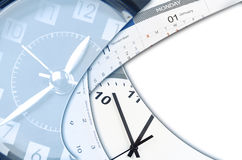 Orologi e calendari Immagine Stock