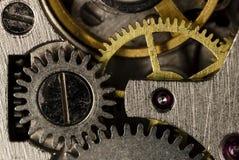 Orologi meccanici d'annata del movimento a orologeria Immagine Stock Libera da Diritti