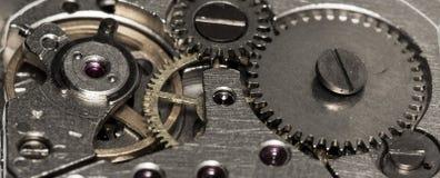 Orologi meccanici d'annata del movimento a orologeria Fotografie Stock Libere da Diritti