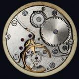 Orologi meccanici d'annata del movimento a orologeria Fotografia Stock