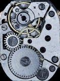 Orologi meccanici d'annata del movimento a orologeria Fotografia Stock Libera da Diritti