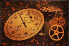Orologi rotti immagine stock libera da diritti