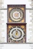 Orologi storici della torre immagini stock libere da diritti