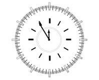 Orologio. illustrazione di stock
