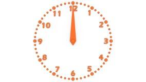 Orologio video d archivio