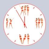 Orologio adatto Immagine Stock Libera da Diritti