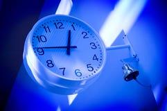 Orologio al banco Fotografie Stock Libere da Diritti