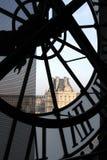 Orologio al museo di Orsay Fotografia Stock