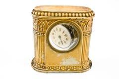 Orologio antico con il meccanismo nocivo immagine stock libera da diritti