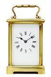 Orologio antico del carrello Fotografie Stock Libere da Diritti