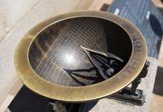 Orologio antico del sole Fotografie Stock Libere da Diritti