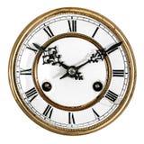 Orologio antico dell'annata Immagine Stock Libera da Diritti
