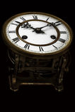 Orologio antico dell'annata Fotografie Stock Libere da Diritti