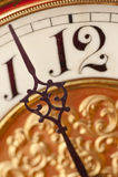 Orologio antiquato Immagini Stock