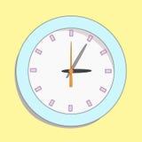 Orologio astratto di vettore. Fotografia Stock