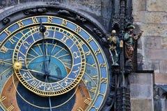 Orologio astronomico di Praga Immagine Stock Libera da Diritti
