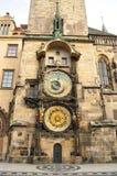Orologio astronomico di Praga Fotografia Stock Libera da Diritti