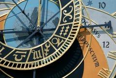 Orologio astronomico di Praga immagini stock