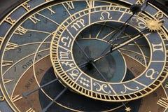 Orologio astronomico di Praga Immagine Stock