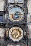 Orologio astronomico a Praga Immagini Stock Libere da Diritti