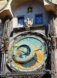 Orologio astronomico, Praga Immagini Stock